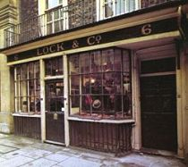 """6, St James's Street Established in 1676, James Lock & Co. Ltd. is the oldest hat shop in the world, as well as being one of the oldest family owned businesses still in existence. A postcard from abroad was once delivered to the shop, simply addressed to """"the best hatters in the world, London""""."""