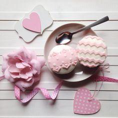 Pink Sweet Heart & cupcakes