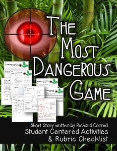 The Most Dangerous Game By Richard Connell Tema Fodje  Sam Wilson