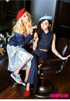 Tiffany and Bora for Cosmopolitan