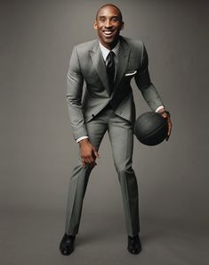 All Gucci'd up ~ Kobe Bryant. see guys, there's no excuse for loose fitting suits!