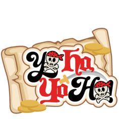 Yo Ho Yo Ho Title SVG