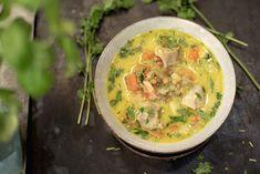Ukemeny for uke 34 Thai Red Curry, Nom Nom, Bacon, Ethnic Recipes, Food, Eten, Meals, Diet
