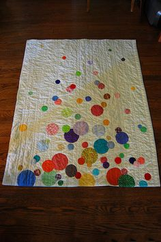 This is such a beautiful quilt, it would make a wonderful baby blanket!!!