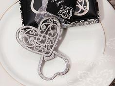 Classic Ornate Heart Silver Bottle Opener #bottleopener #heart