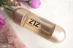 Direito por linhas tortas: Os meus produtos   Perfume 212 Vip Rose