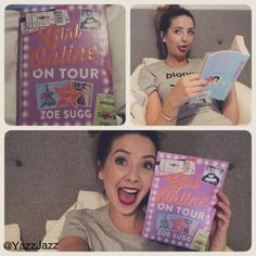 So excited for Girl Online on Tour, can't wait for my signatured book!