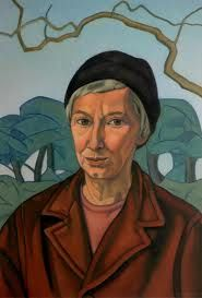 This is Rita Angus's last completed self-portrait.' Marti Friedlander, who photographed Angus in observed, 'There was nothing at all self-conscious about her, and. Woman Painting, Painting & Drawing, Matisse, Self Portrait Artists, Gauguin, New Zealand Art, Nz Art, Portraits, Australian Art
