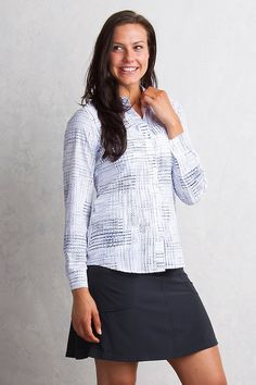 ExOfficio Airhart LS Shirt Women's - Blue Glaze