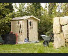 Cabane de jardin d\'angle sur mesure - Charpente traditionnelle ...