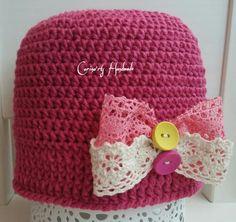 Bowtie crochet Fuchsia...