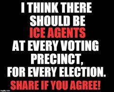 If you allow a citizen of another country to vote in the United States, that foreign interference!