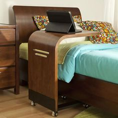 Mobile Desk - Work and never get out of bed! - The Eclipse Collection by Legacy Classic Kids Mobile Desk, Nebraska Furniture Mart, Getting Out Of Bed, Woodworking, Simple, Table, Kids, Classic, Design