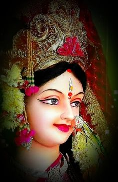 Durga Maa Paintings, Durga Painting, Indian Art Paintings, Maa Durga Photo, Maa Wallpaper, Lord Murugan Wallpapers, Durga Images, Mata Rani, Kali Goddess
