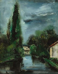 The House on the Bank of the River. Maurice de Vlaminck