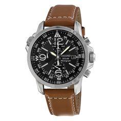 5676fdace Seiko Prospex Solar Chronograph Compass Black Dial Men's Watch Montre  Daniel Wellington, Seiko Men,