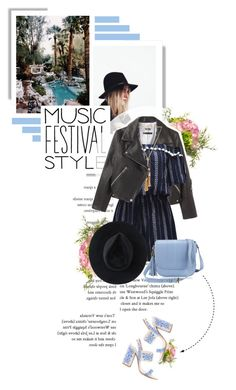 """Show Time: Best Festival Trend"" by szansza ❤ liked on Polyvore featuring Tabitha Simmons, National Tree Company, WithChic, Chloé, GiGi New York, Ryan Roche and festivalfashion"
