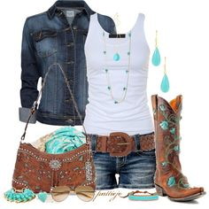Rockin' That Country, created by rockreborn on Polyvore