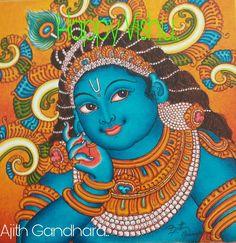 New Bedroom Paint Colors Behr Green Benjamin Moore 54 Ideas Kerala Mural Painting, Tanjore Painting, Light Painting, Bedroom Paint Colors, Interior Paint Colors, Interior Painting, Gray Interior, Frases Yoga, Apartment Painting