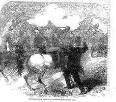 HORSESTEALING EXTRAORDINARY NEAR NEWMARKET . The Penny Illustrated Paper (London, England), Saturday, April 25, 1863