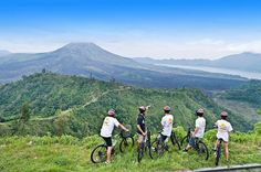 Bali Cycling Trip is one of the Bali Activities Tour by offer amazing selection trip for downhill cycling bike from Kintamani Volcano