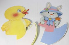 Honeycomb Paper CenterPiece Easter Bunny by TheAffordableShack