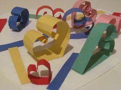 Last minute valentine collage for prekindergarten   Teach Preschool