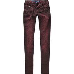 ALMOST FAMOUS Snakeskin Womens Skinny Jeans 201631320   Skinny   Tillys.com