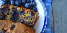 """Blueberry Pumpkin Bread & quote  """"We are all a little weird and life's a little weird, and when we find someone whose weirdness is compatible with ours, we join up with them and fall in mutual weirdness and call it love"""