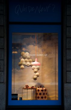 Window displays at the Gallery Lafayette in Paris for the Maison & Objets show