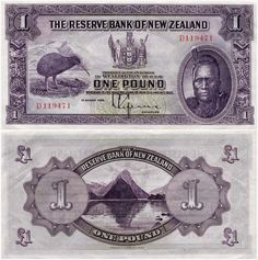 First series of banknotes: £1