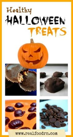 Halloween is known as the candy holiday! In our house we try to enjoy it by making our own healthy halloween treats! No artificial colors or flavors.