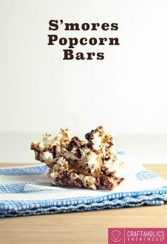 Craftaholics Anonymous® | S'mores Popcorn Bars