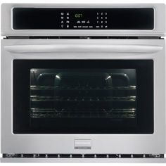 "#waloven #Gallery 30"" Stainless Steel #Electric Single Wall Oven - Convection"