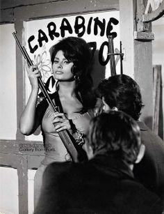 Sophia Loren par PierLuigi Praturlon, 1962.
