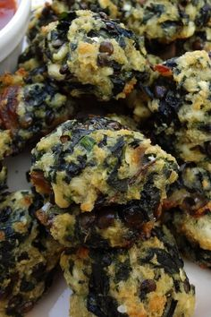 Easy Baked Spinach Balls with Parmesan Cheese Recipe