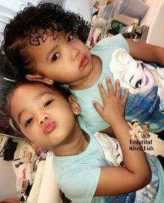 Jazelle & Janelle - 3 Years • Lao & African American ❤