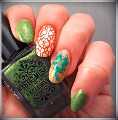 Polish & Plates: St. Patricks Day - Mystic Muse Mani