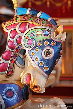 A Carousel Horse - I always have a hard time deciding which horse to ride!