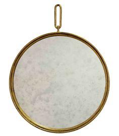 The Circular Hand Beaten Mirror