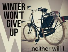 Winter Won't Give Up