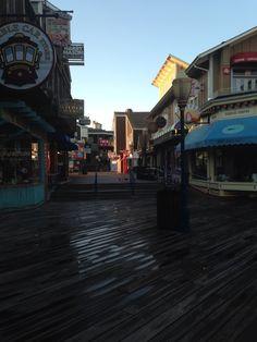 The wharf what fun!