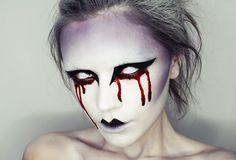 20 ideias assustadoras de maquiagem para o dia do Halloween | Curiosos No Mundo