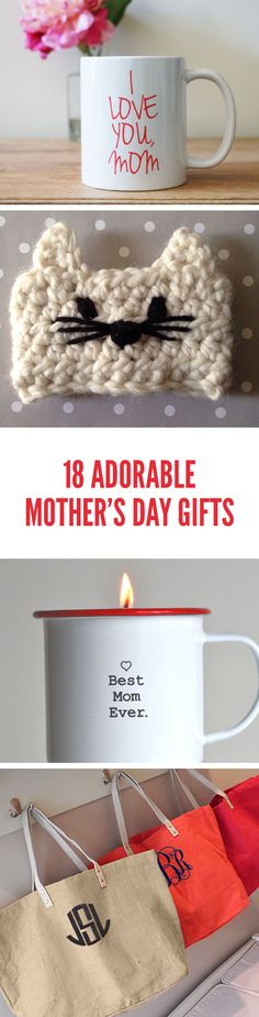 18 Adorable Mothers Day Gifts that are Handcrafted For Your Mom