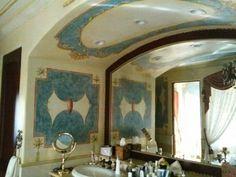 Fresco, Oversized Mirror, Painting, Furniture, Home Decor, Art, Art Background, Fresh, Decoration Home