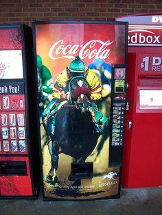 Keeneland Horseracing Vending Machine by The Upstairs Room, via Flickr