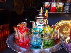 lovely Moroccan tea set