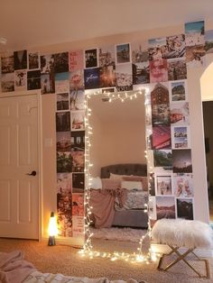 ⭐aesthetic teen room look - reganbhill Estimated to ship in . - ⭐aesthetic teen room look – reganbhill Estimated to ship in business days - Cute Room Ideas, Cute Room Decor, Teen Room Decor, Hipster Room Decor, Bedroom Wall Collage, Mirrors For Bedroom Wall, Bedroom Picture Walls, Pink Bedroom Walls, Mirror Room