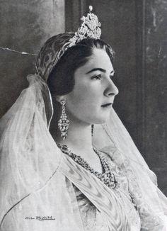 Egito 1938 - queen Farida