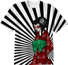 Oriental Geisha Gothica 2 from Print All Over Me